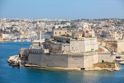 Fuerte de San Elmo en La Valletta