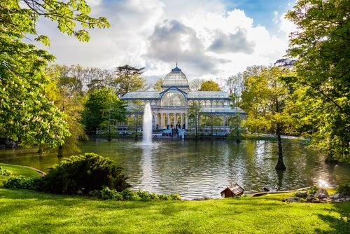 Parque del Retiro para visitar en Madrid en 3 días