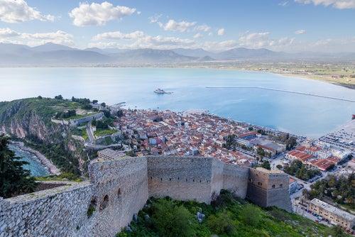 Nauplia en Grecia