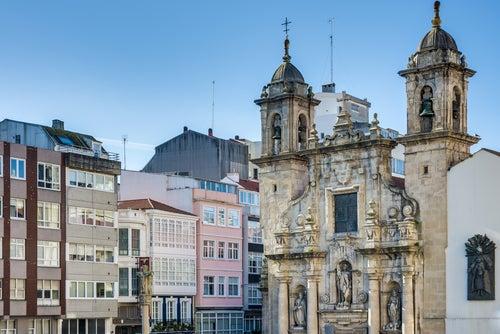 Iglesia de San Jorge en A Coruña