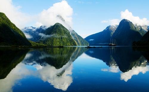 Mildford Sound en Nueva Zelanda, el fiordo más hermoso