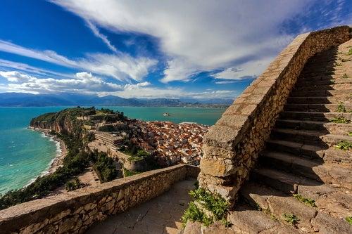 Nauplia, una bella ciudad mitológica en Grecia