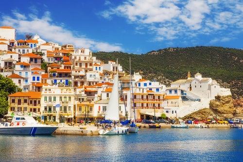 Skopelos en Grecia