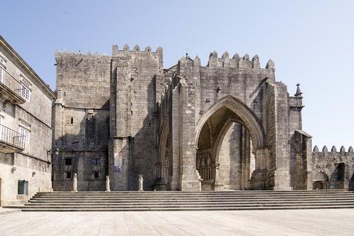 Catedral de Tui en Galicia