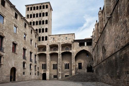 Rincones secretos de Barcelona, Plaza del Rey