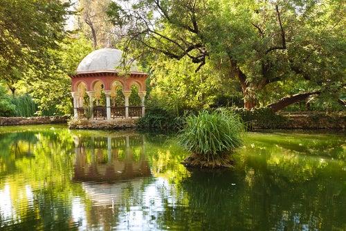 Paseando por el idílico parque de María Luisa de Sevilla