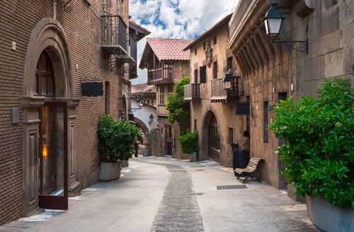 Pueblo Español en Montjuic