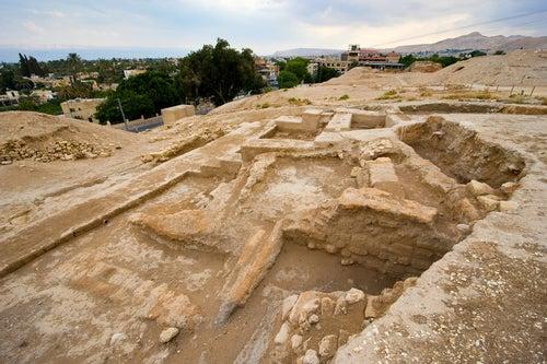Restos arqueológicos en Jericó