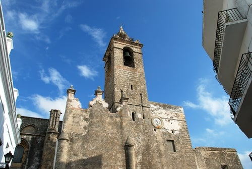 Iglesia del Divino Pastor en Vejer de laFrontera
