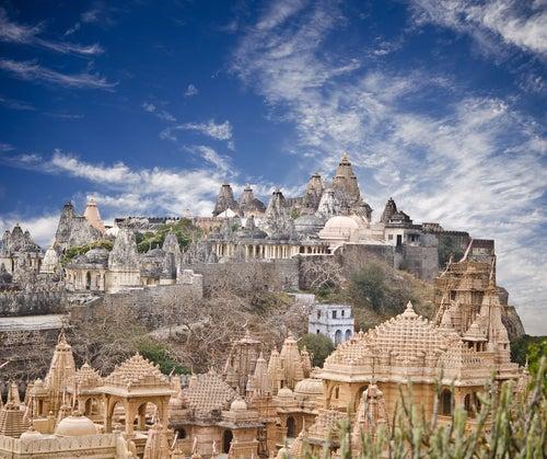 La colina de Palitana en India y sus mil templos