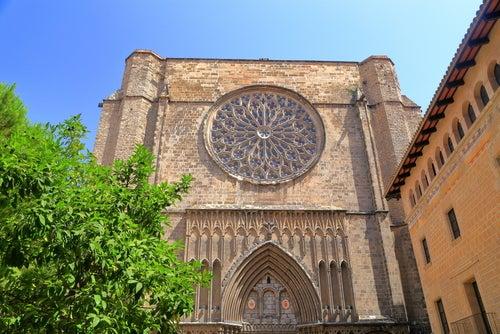 Santa María del Pi en Barcelona