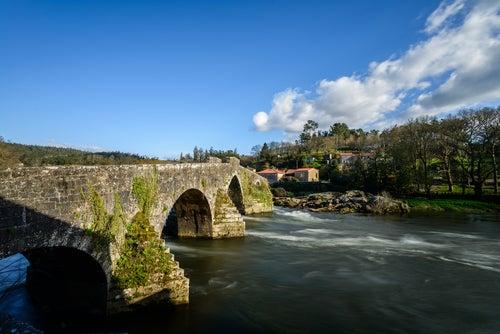 A Ponte Maceira en Galicia