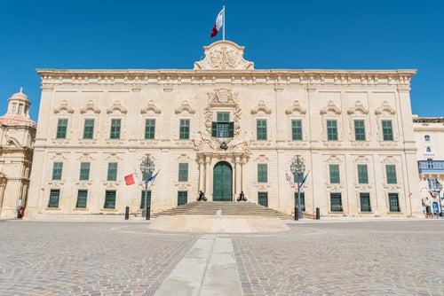 Castillo de Auverge en La Valletta