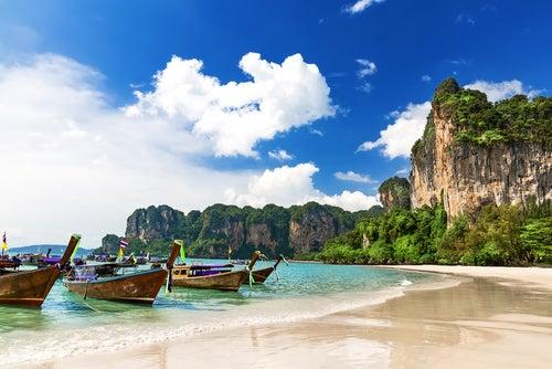 Railay, un rincón de ensueño en Tailandia