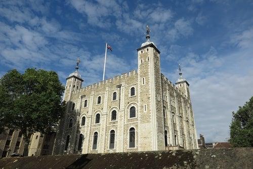 Torre Blanca en la Torre de Londres