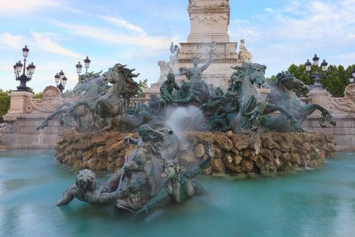 Monumento a los Girondinos en Burdeos