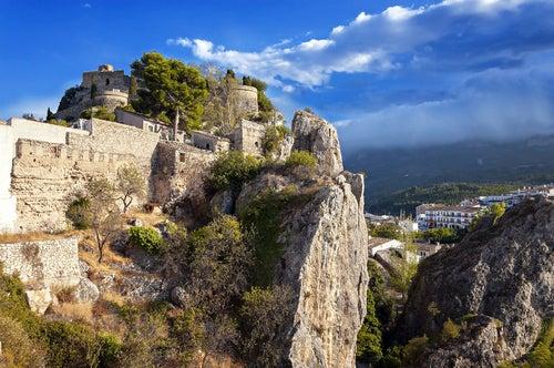 Castillo de San José en Guadalest