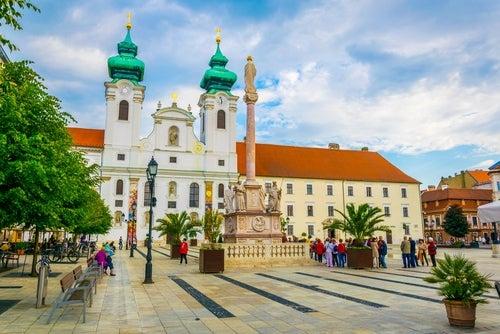 Győr en Hungría