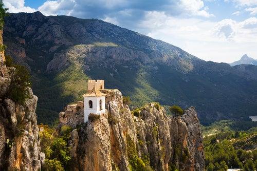 El Castell de Guadalest en Alicante, un pueblo con encanto