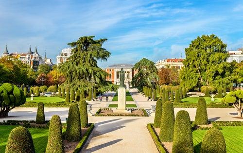 Jardín del Parterre en el Retiro