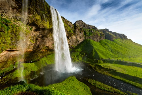Seljalandsfoss en Islandia