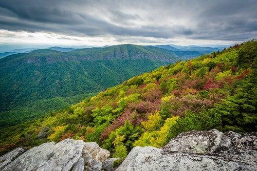 Montes Apalaches, Estados Unidos