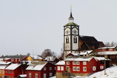 Roros en Noruega