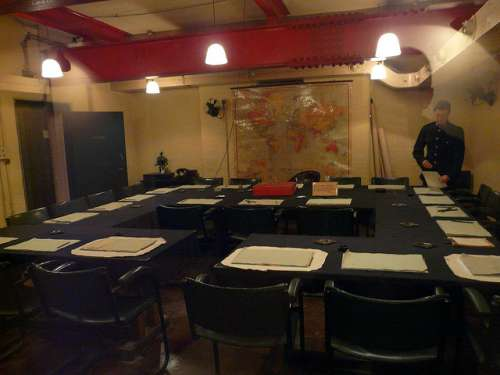 Churchill War Rooms en Londres