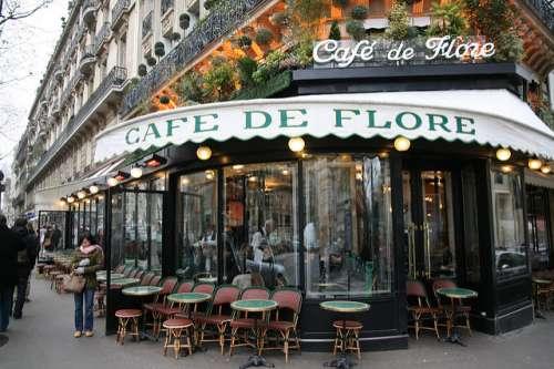 Café de Flore en París