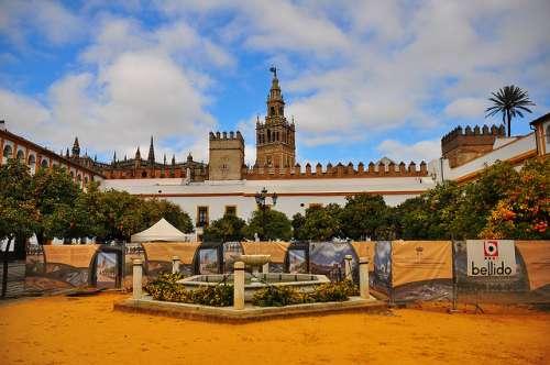 Patio de Banderas de Sevilla