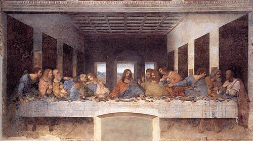 La última cena, obra de la pintura del Renacimiento de Italia