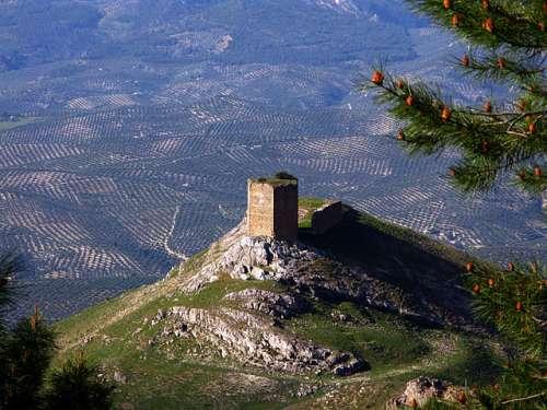 Castillo de las Cinco Esquinas en Cazorla