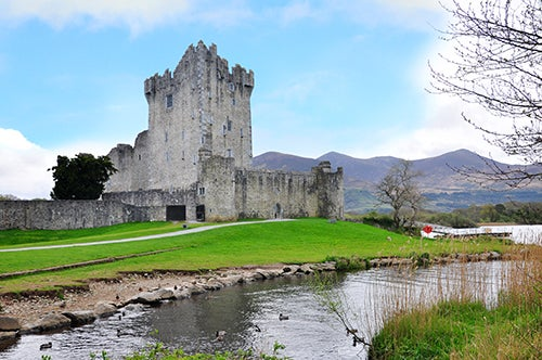 Castillo de Ross en Killarney