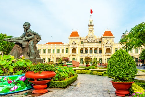 Ho chi Minh en Vietnam