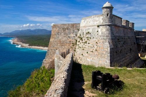 Castillo del Morro en Santiago de Cuba