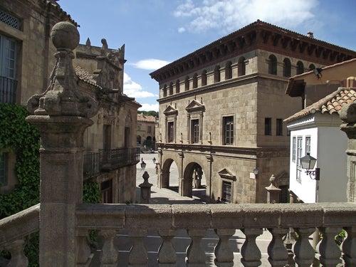 Pueblo Español en Barcelona