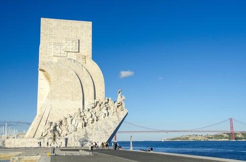 Monumento a los Descubridores en Lisboa