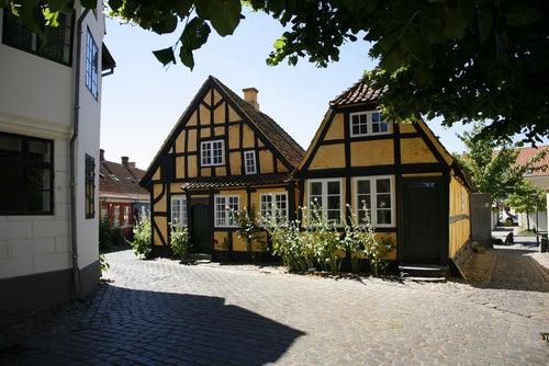 Faaborg en Dinamarca
