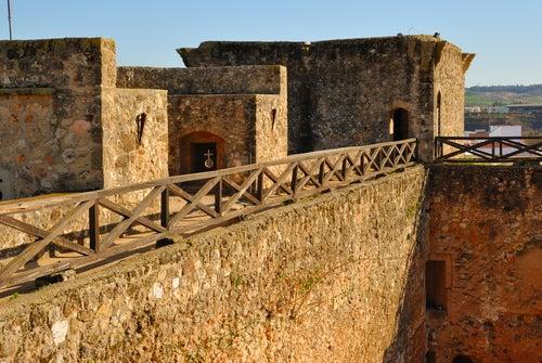 Castillo de Niebla en Andalucía