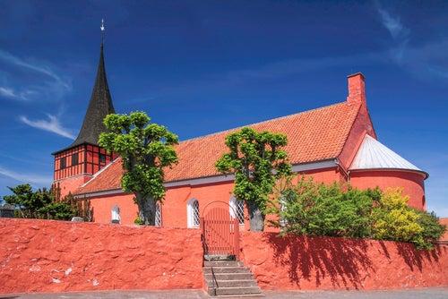 Svaneke en Dinamarca
