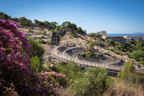 anfiteatro romano de Cagliari