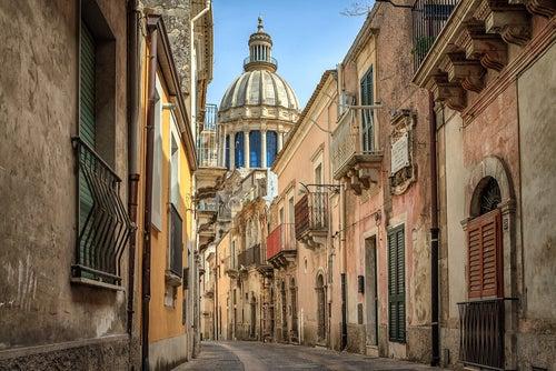 Ragusa en Sicilia