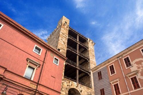 Torre de San Pancracio en Cagliari