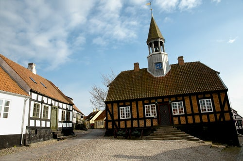 Ebeltoft en Dinamarca