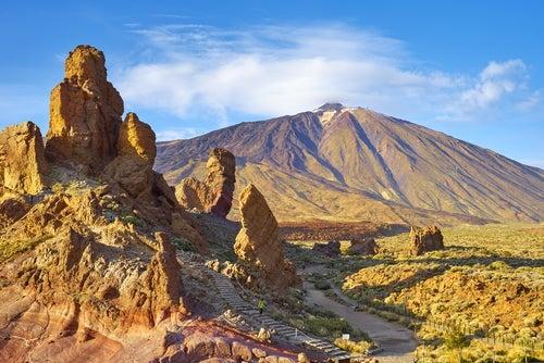 Las Cañadas del Teide en Tenerife, un paisaje espectacular