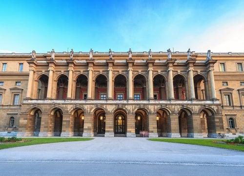 La Residencia de Múnich, clásica sobriedad alemana