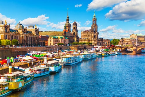 Dresden en Sajonia
