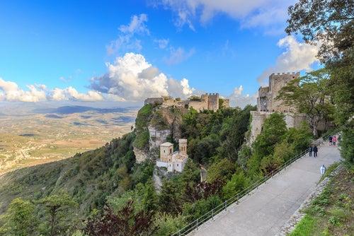 Erice en Sicilia