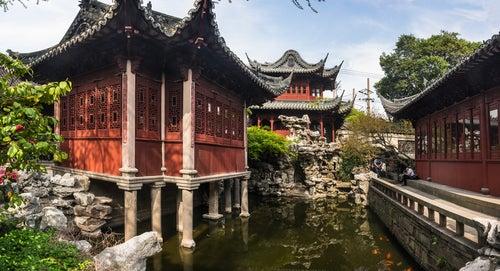 Jardines de Yuyuán en Shanghai