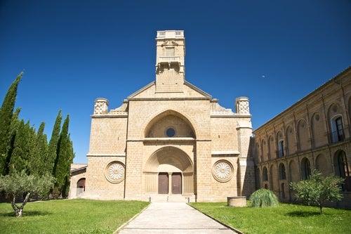Monasterio de la Oliva en Navarra